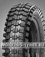 Minibike Reifen - Qingda Q204 Cross 12 1/2x2 3/4 2PR TT